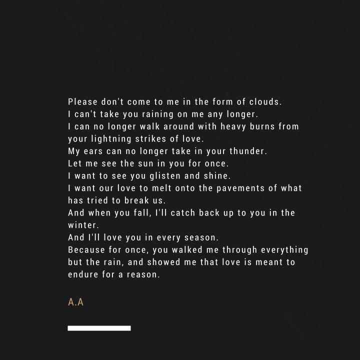 Poetry // ALIYAHNICOLE